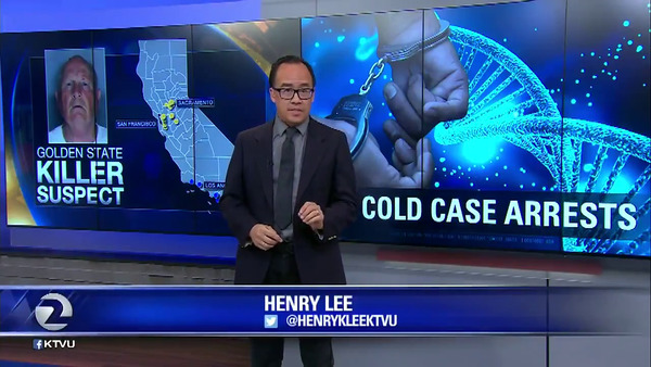[IMAGE] Henry Lee reporting for KTVU-TV, FOX 2 News, Oakland, CA